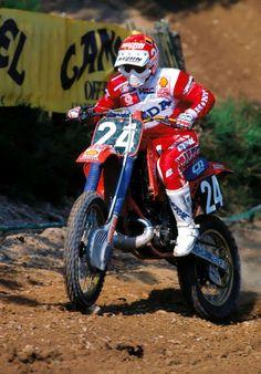 Eric GEBOERS HONDA RC 250 M 1987