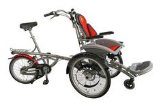 Wheelchair bike. Repined by Spine & Rehab Specialists www.spinerehab.net