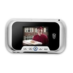 Cannon, Brushed Silver Digital Door Viewer, DV01P at The Home Depot - Mobile