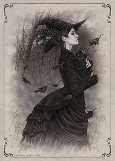 Witch by Victoria FrancEd is this not the Beautifulest image? OMG I love this :)