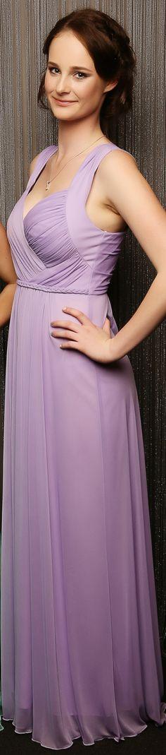 Massey Ball 2014. Lovely in lilac! www.whitedoor.co.nz