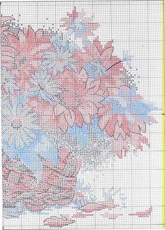 Sunflower and Daisy Basket - 5/5 Solo Patrones Punto Cruz (pág. 315) | Aprender manualidades es facilisimo.com