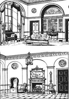 Georgian interior georgian architecture interiors for Georgian architecture interior design
