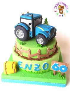 Tractor cake by Sheila Laura Gallo