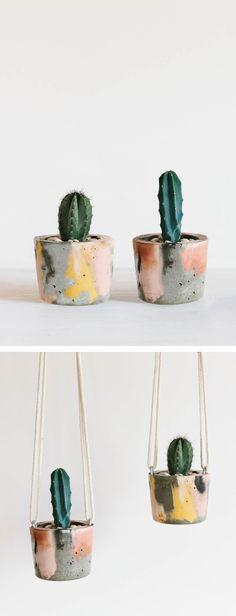 Hanging Concrete Planter / Planter / Pot Plant / Hanging Pot Plant / Concrete Planter / Object Design / Product Design / Fox