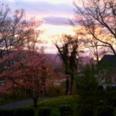 Sunset in Newport, Tn  3-25-12