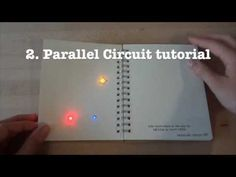 ▶ Circuit Stickers tutorial 2: Parallel circuits - YouTube via Chibitronics