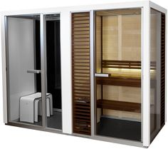 Tylo Impression Twin Combo - Steam Sauna Shower. This luxury steam shower & sauna combo has excellence built in and is one of the easiest to home install.