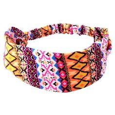 Faixa para Cabelo Tribal Rosa - comprar online