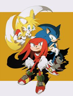 Sonic The Hedgehog, Shadow The Hedgehog, Sonic 3, Sonic Fan Art, Mundo Dos Games, Sonic Franchise, Sonic Heroes, Never Be Alone, Sonic Fan Characters