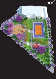 (Primeiro projeto a ser executado!!!) Urbanismo • Revitalização - Praça do Bairro Cinquentenário, Caxias do Sul • Créditos: FONTE SEMMA