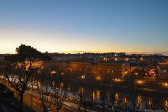 Lungotevere al tramonto - Roma