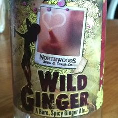 Really spicy hot ginger ale! Made in Michigan and sweetened with stevia and Michigan sugar. Yum!