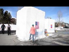 Day 1 of the 25th Annual Snow Sculpting Championships. Can't wait to see the creations! #BreckBecause