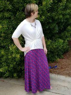 Love my tied Irma and Maxi skirt