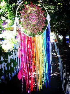 #dreamcatcher for a hollywood wedding by Rachael Rice http://www.etsy.com/shop/cosmicamerican