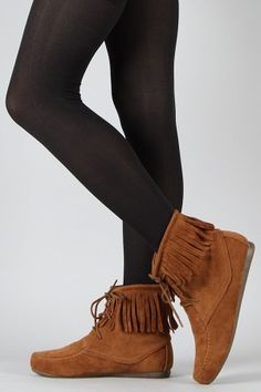 Moccasin ankle boots. Cheapest website!