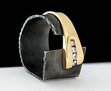 Facets of Love by Dagmara Costello (Gold & Silver Ring)