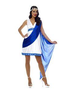 Greek goddess outfit. Could be cute for greek god & goddess comp during greek week...