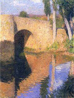 The Bridge by Henri Martin