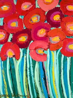 Red Poppies - Anna Blatman
