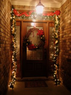 entry way decorating