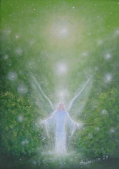Angel of healing light