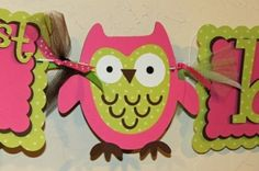 owl party by clarissa