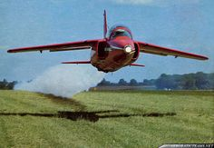 Red Arrows Folland Gnat T1