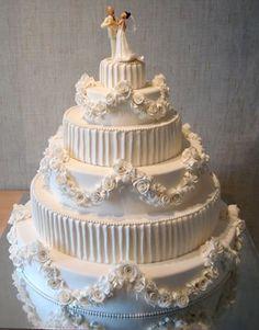 Самые красивые свадебные торты фото рецепт