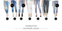 Favorite Styles of Boyfriend Jeans   STYLE'N