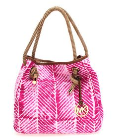 Another great find on #zulily! Raspberry Marina Shoulder Bag by MICHAEL Michael Kors #zulilyfinds