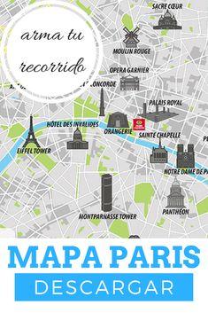 Totally Random Travel Tips Paris Map, Paris Travel, France Travel, Paris France, Francia Paris, Travel Maps, Solo Travel, Places To Travel, Travel Destinations