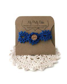 Gehäkeltes Armband häkeln Cuff Crochet von MyPrettyBabi auf Etsy
