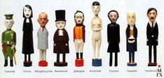 Гумилев, Гоголь, Мандельштам, Вяземский, Давыдов, Ахматова, Пушкин, Чаадаев, Чуковский. #Gumilev #Gogol #Mandelstam #Vyazemsky #Davydov #Akhmatova #Pushkin #Chaadayev #Chukovsky #Doll #Dolls