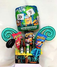 CatálogosTemporadas Make A Wish, How To Make, Candy Bouquet, Boyfriend Gifts, Fathers Day, Balloons, Birthdays, Snacks, Sweet