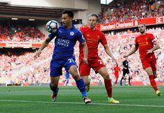 Leicester City je Shinji Okazaki s Liverpoolu Lucas Leiva