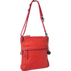 Women's Cross-Body Handbags - The SAK Pax Leather 106168 Cross BodyChiliOne Size -- Check out the image by visiting the link.