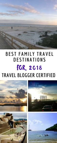 Insider Families round up of not-to-miss family travel destinations for 2018. Travel blogger certified. #familytravel #familyvacation #vail #tokyo #stlucia #santafe