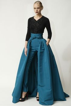 Pre-Fall 2014-Naeem Khan's red carpet fusion | Sybilia's Fashion ...