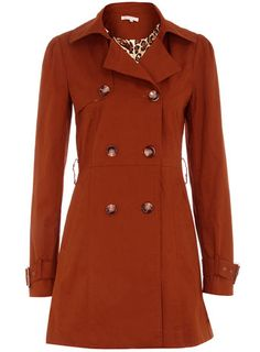 I love rust colored clothing, and this jacket is just too cute!