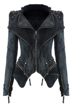 Now this is a jacket! Funky idea,never know what it would be cool for.