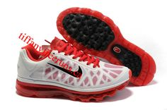 Mens Nike Air Max 2011 White/Anthracite/Bright Cerise Sneakers