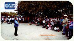 #VamosPor2015 #VamosConRosy El proximo domingo 7 de junio vota por Rosy Gonzalez para #DiputadaLocal #Distrito7 #Tenancingo, #Malinalco #Ocuilan #Joquicingo #Zumpahuacan #APocoNo