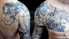 EPIC One Piece tattoos!