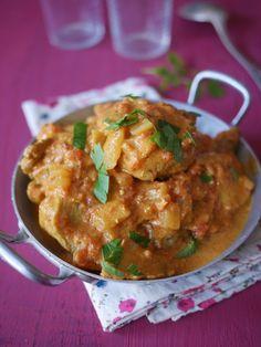 Sauté de porc au curry - Blog de cuisine créative, recettes / popotte de Manue