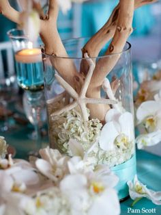Beach | Nautical Theme Wedding decoration ideas