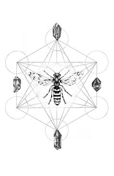 Metatron's Cube & Crystal Grid by Christina Zouras