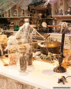 halloween kitchen decor | Halloween: Halloween Decorations from the Show - Martha Stewart