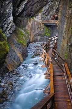 Canyon Path, Salzburg, Austria photo via candice
